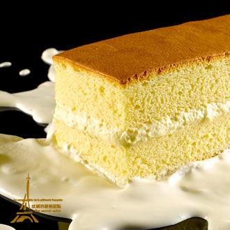 【法國的秘密甜點】~「上班這黨事」上班族小確幸~22:1黃金比例諾曼地純手工牛奶蛋糕