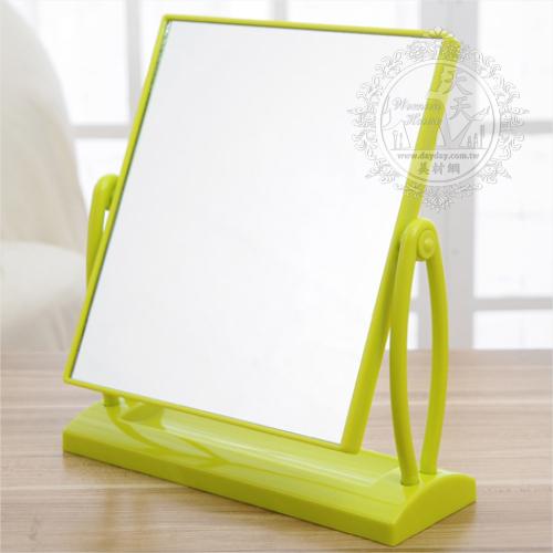 ◇草工坊EX2181◇方型雙面桌鏡/化妝鏡◇不挑色[50906]