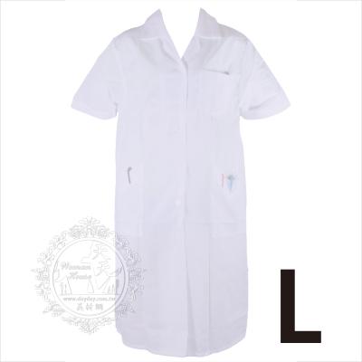 【美容美髮乙.丙考試】指定專用制服-護士服(短袖)-L號 [43549] 適合60-70公斤的朋友