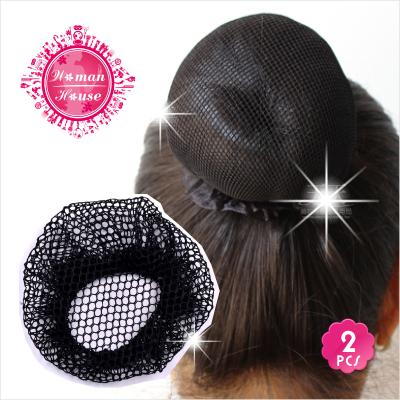 [兒童專用]兒童舞蹈包頭假髮專用網7.5CM-2入 [47751]