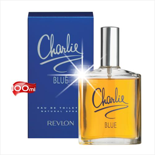 英國REVLON查理中性淡香水(藍色)-100mL [11306]