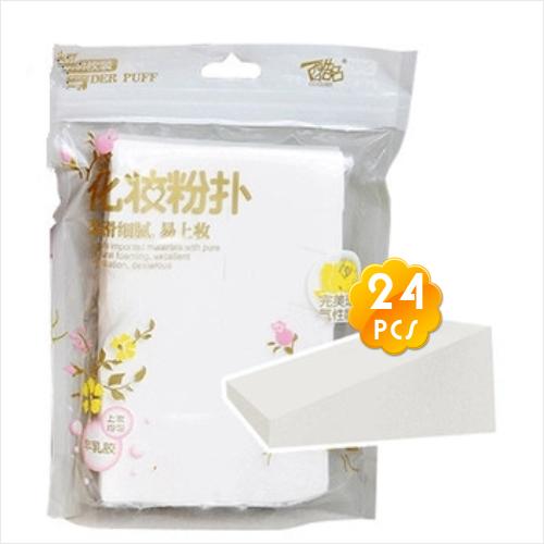 酷品P-8060三角形化妝海綿粉撲(24入)美容師用 [53109]