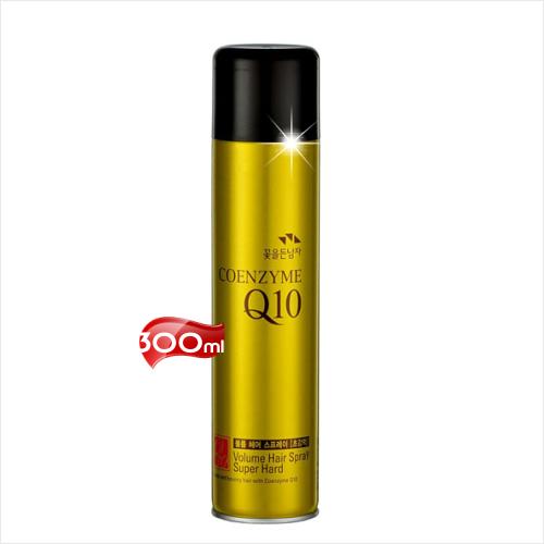 【免運】韓國Q10強效定型液-300mL/油頭髮臘/造型/雞冠頭/另售施華蔻.精美 [44125]