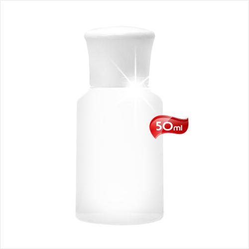 台灣製!E046白頭PP塑膠透明乳液空瓶-50mL [52822]旅行外出分裝