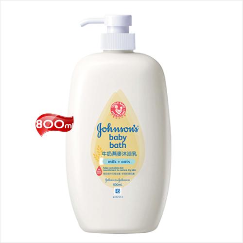 嬌生嬰兒牛奶燕麥沐浴乳-800mL [53575]