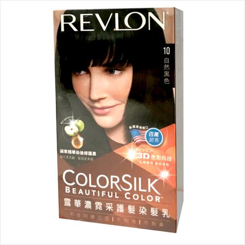 REVLON露華濃霓采護髮染髮乳-10自然黑色 [54018]