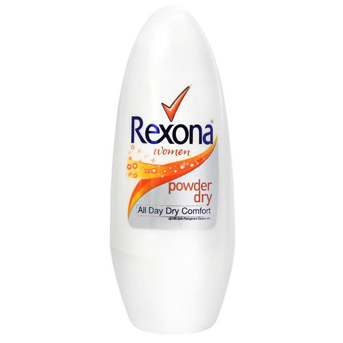 【極致乾爽】Rexona powder dry蕊娜制汗爽身香體露-40ml [27106]