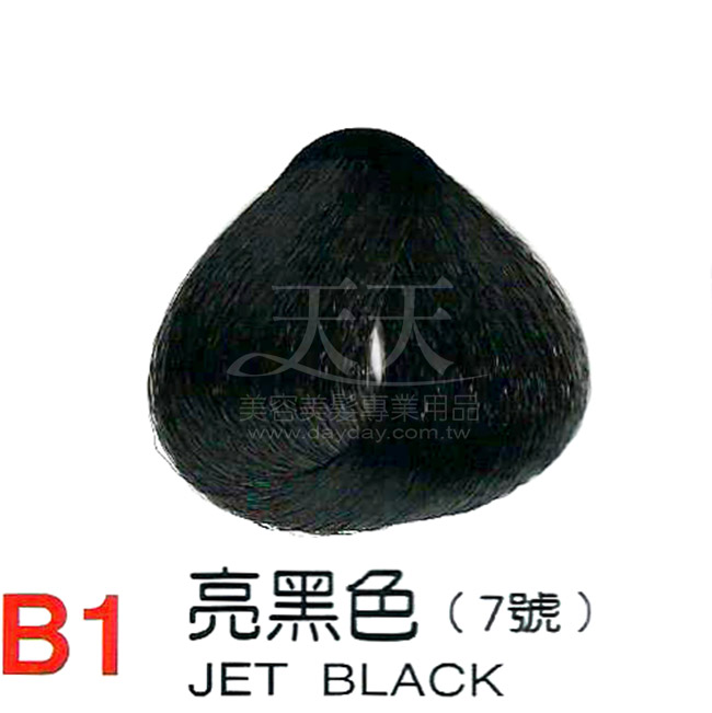 奇靈鳥 二代染髮劑 B1-亮黑色 [31077] ::WOMAN HOUSE::