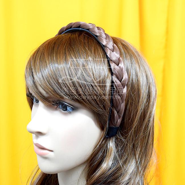 順達 辮子髮箍--金黃色 [40658] *新娘秘書/造型假髮* ::WOMAN HOUSE::