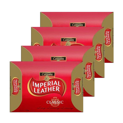 Cussons IMPERIAL LEATHER 帝王皂 115g-4g [45908] ::WOMAN HOUSE::