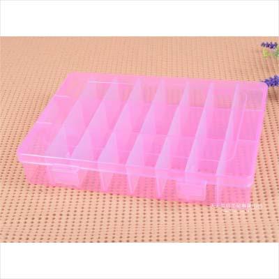 【小飾品收納盒】CP-L2401格板百變盒-24格 [46174]