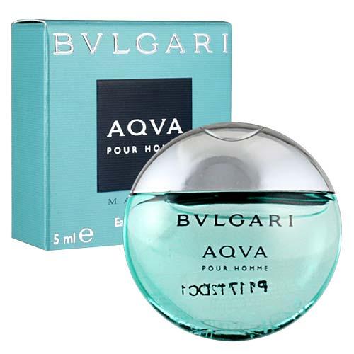 【送禮自用】Bvlgari寶格麗 Aqva Marine活力海洋能量男性淡香水-5ml [47700]