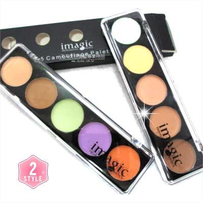 【店長推薦】專業級彩妝師選用5色遮瑕蓋斑膏-10g(2色) [47997]