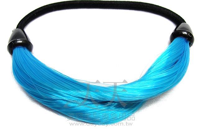 完美 馬尾巴造型髮束 (天空藍) [63219] *新娘秘書/造型假髮* ::WOMAN HOUSE::