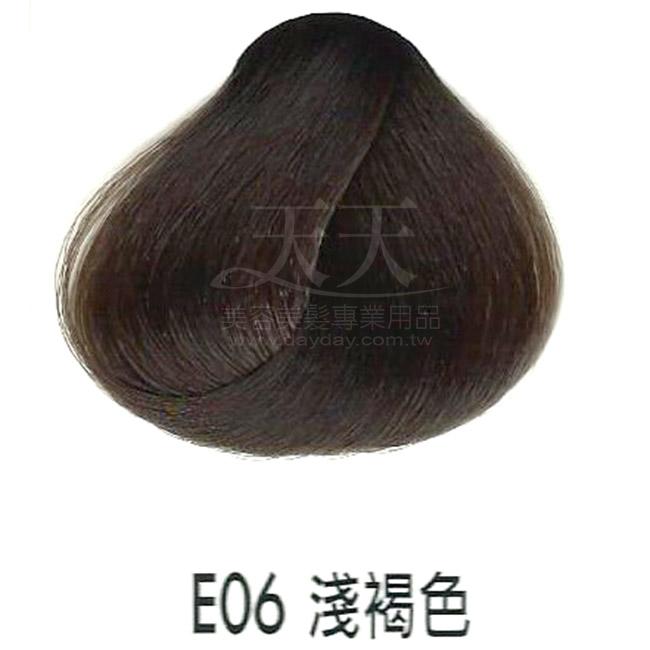 耐婷 亮彩染髮劑 E06-淺褐色 60g [66484] ::WOMAN HOUSE::