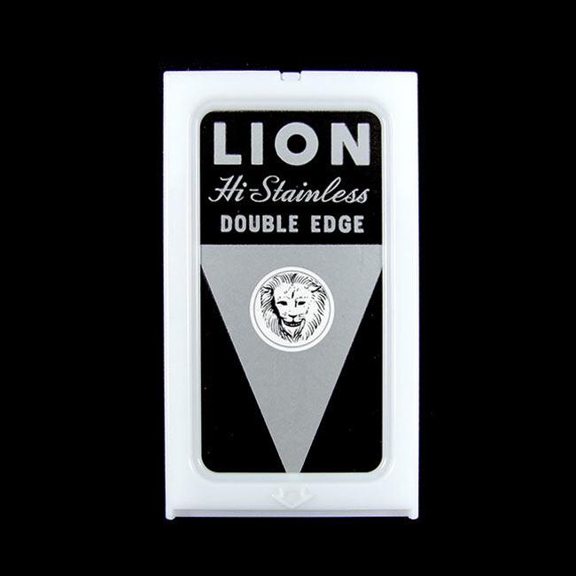 獅王牌LION 雙面刀片 5片入 [67713] ::WOMAN HOUSE::  (修眉、剃頭、打薄削刀替換專用)