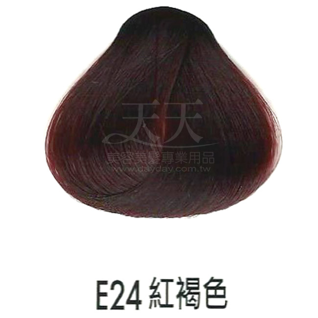 耐婷 亮彩染髮劑 E24-紅褐色60g [73045] ::WOMAN HOUSE::