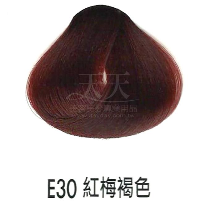 耐婷 亮彩染髮劑 E30-紅梅褐色60g [73046] ::WOMAN HOUSE::