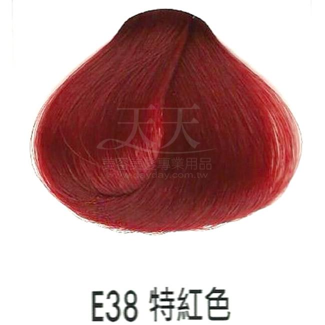 耐婷 亮彩染髮劑 E38-特紅色60g [73057] ::WOMAN HOUSE::