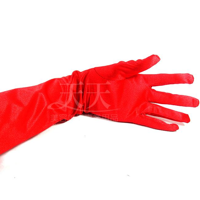 新娘手套絲質絲質素面 (長)大紅色 [98564] ::WOMAN HOUSE:: 新娘秘書