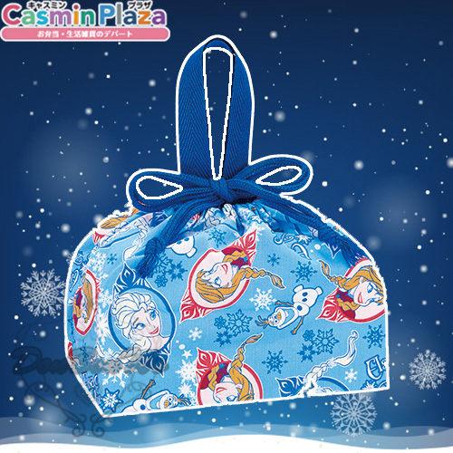 迪士尼冰雪奇緣束口袋收納袋便當袋艾莎安娜多圖323805海渡