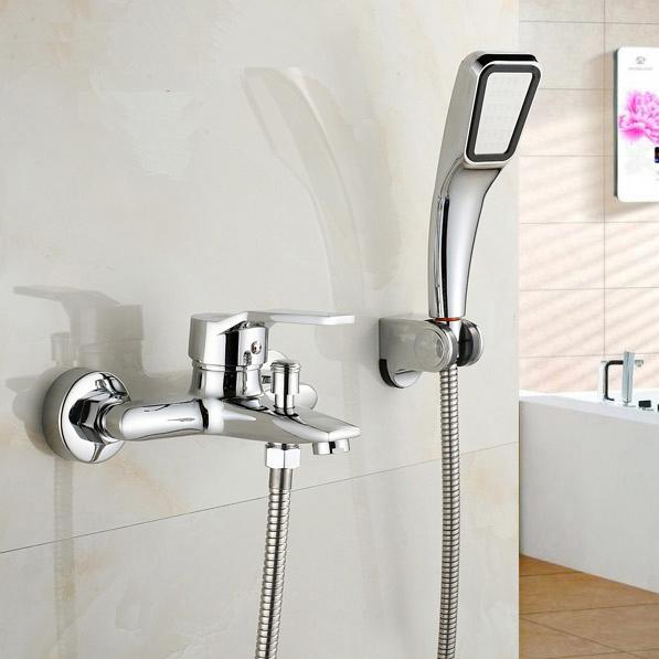 特賣無鉛台製淋浴龍頭組 冷熱水龍頭  淋浴花灑套組  高質感300孔噴頭電鍍鏡面  水龍頭 台製