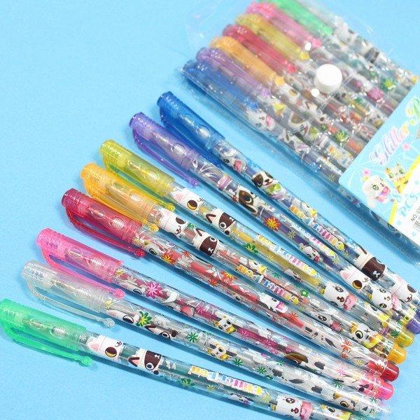 8色閃光筆 NO.622-8 金蔥閃光筆 亮彩筆 亮亮筆 閃亮筆(透明PP袋)/一小袋入{促39}