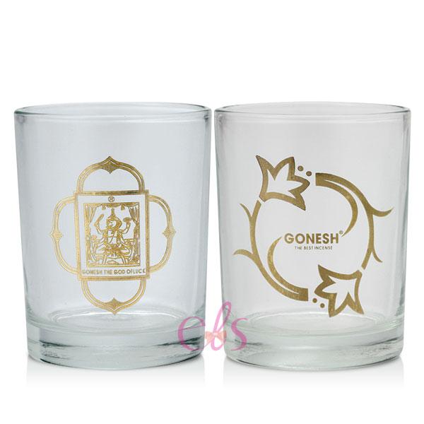 GONESH精油線香 香氛蠟燭燭杯 兩款供選 另有香氛許願蠟燭 ☆艾莉莎☆