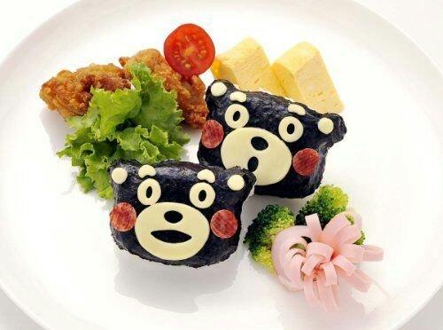 =優生活=【野餐必需品】熊本熊造型便當飯團輔助模具飯團模具便當壽司工具小孩最愛