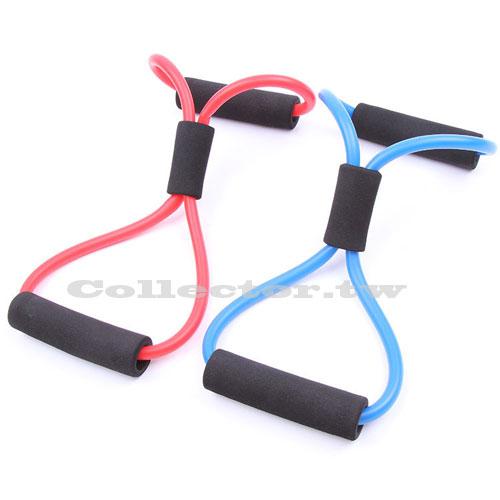 【B16111704】瑜珈八字繩 拉力繩 8字彈力繩 彈力帶 居家運動健身(單售)