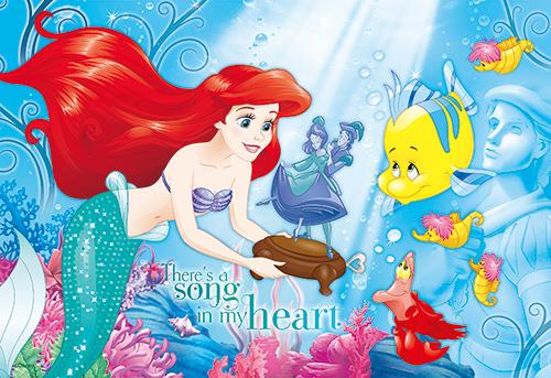 【P2 拼圖】Disney Princess 小美人魚(1)拼圖300片 HPD0300S-053