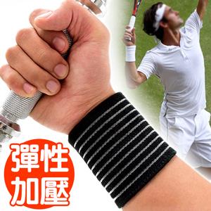 纏繞式加壓調整護腕帶(可調式綁帶繃帶束帶保護手腕.調節鬆緊關節保暖.健身運動防護具.推薦哪裡買)D017-05