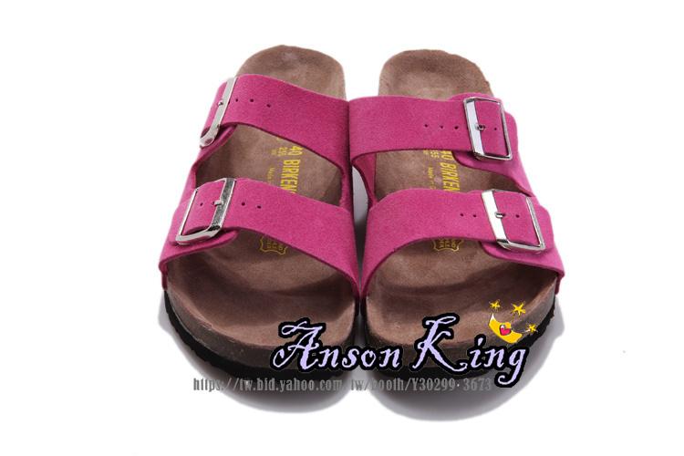 [Anson King]Outlet正品代購  birkenstock Arizona系列 男女款 懶人涼拖鞋 桃紅