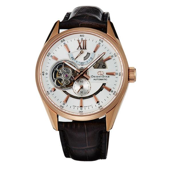 Orient 東方錶(SDK05003W)東方之星鏤空機械錶/白面41mm
