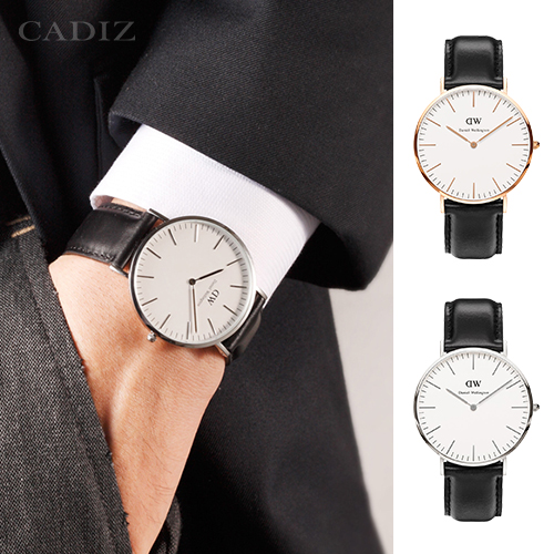 【Cadiz】瑞典DW手錶Daniel Wellington 0107DW玫瑰金 0206DW銀 Sheffield 40mm [代購/ 現貨]