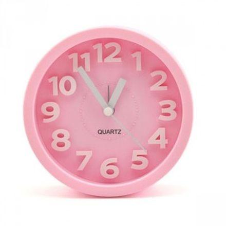 小玩子 無敵王 立體數字鬧鐘(大圓) 靜音 貪睡 懶人鐘 SV-1305