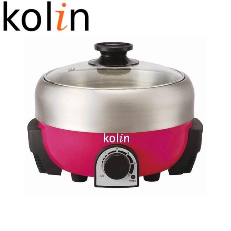 小玩子 歌林 Kolin 高級不銹鋼 電火鍋 健康 安全 溫控 HL-MN2001S
