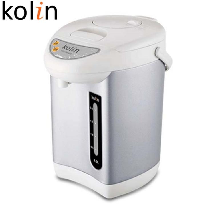 小玩子 歌林 2.5L 單氣壓熱水瓶 防乾燒 底部360度旋轉 透明水位 KPJ-MN01
