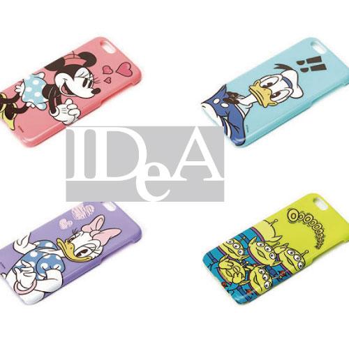 迪士尼 iphone6/Plus 保護殼  日本原裝 手機殼 硬殼 米奇 米妮 小飛象 瑪莉貓 三眼怪 維尼 小鹿班比