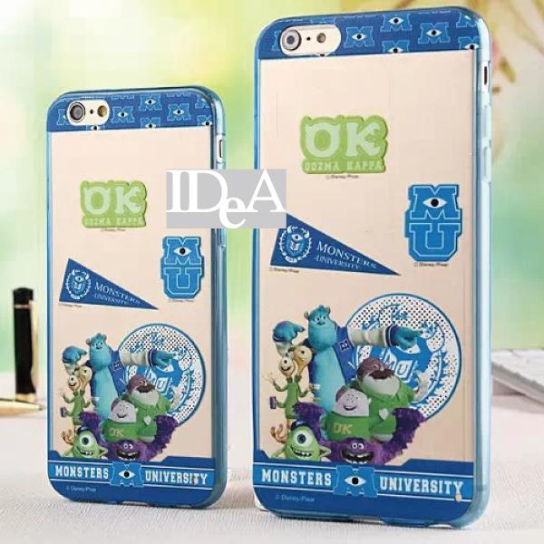 Apple iPhone6/Plus 迪士尼 浮雕 TPU 手機殼 軟殼 保護殼 米奇  毛怪 瑪莉貓
