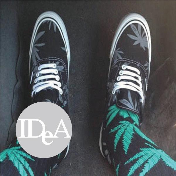 HUF 大麻葉襪 麻葉襪 Remix Color 麻花襪 雪花襪 足球襪 厚底滑板襪 中筒襪 男款