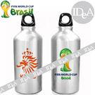 2014年巴西世界杯足球賽紀念版 國家隊 鋁合金運動水壺 水瓶 水杯 750ml 專區 世界盃 FIFA World Cup