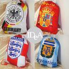2014年巴西世界杯足球賽紀念版 國家隊 尼龍束口袋 後背包 練習袋 鞋袋 球袋 球衣袋 Training bag