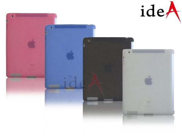 平板電腦半透明矽膠保護套 iPad2 iPad3 New iPad iPad4 Apple 果凍套 保護殼 軟殼 搭配Smart Cover