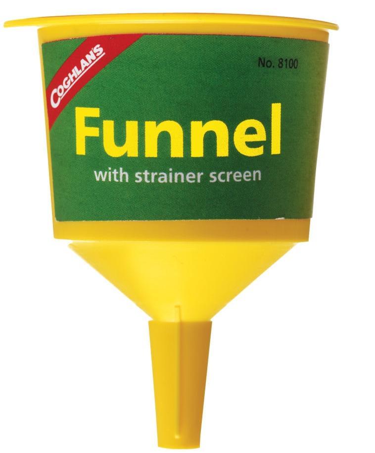 [ Coghlans ] 燈油漏斗/汽化燈/氣化爐漏斗 8100 Filter Funnel