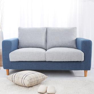 【迪瓦諾】貓抓布沙發 2人 /  3人 /L型/ 藍灰 (18種顏色) /台灣製 / 可訂作