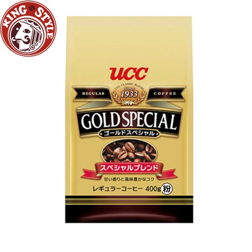 金時代書香咖啡【UCC】金質精選研磨咖啡粉(400g)