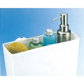 派樂 強力吸盤衛浴收納盒/角落架(1入) 吸盤收納 浴室架 收納架 牆角架 置物架 衛浴收納 強力吸盤架 耐重2公斤