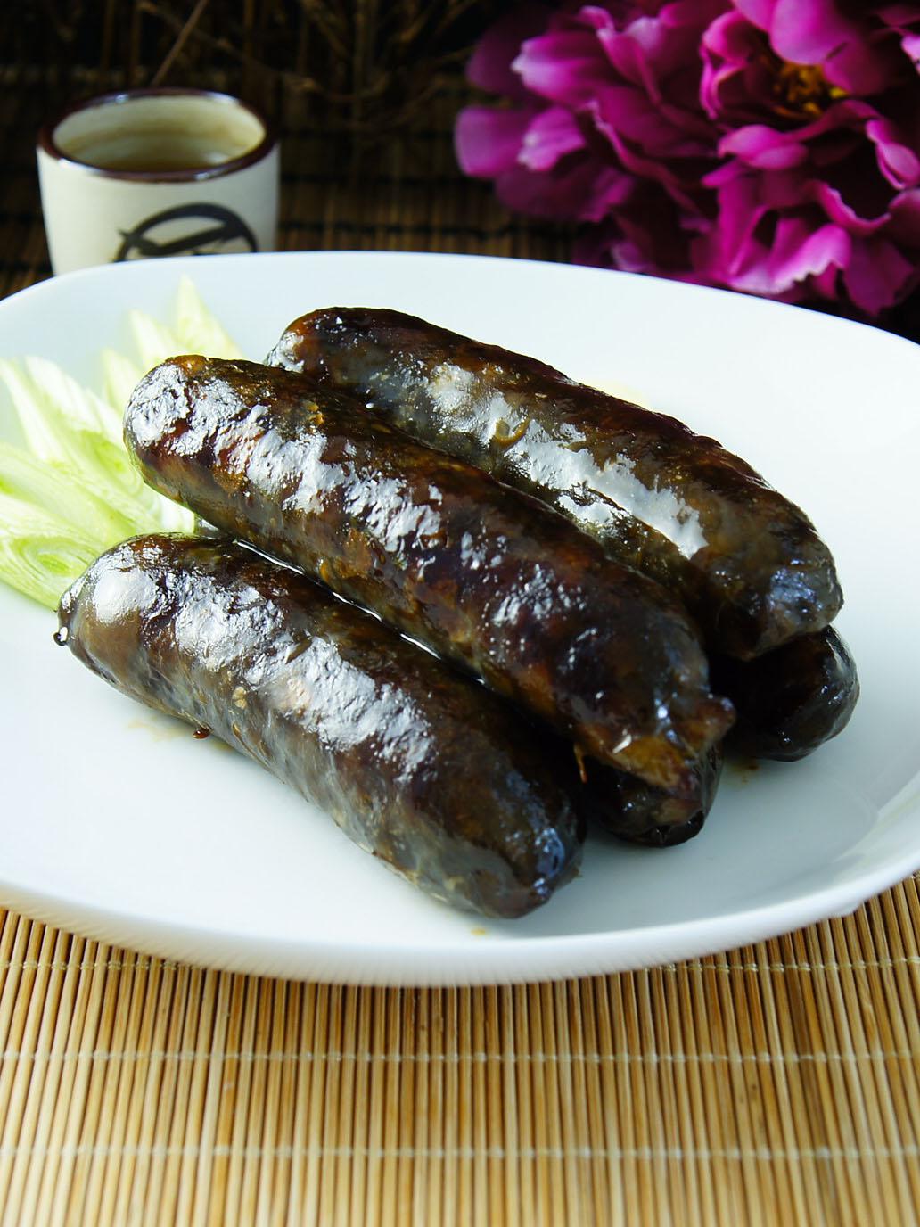 【金榮肉品】屏東東港 墨魚香腸 - 130元(300克±5%/包)