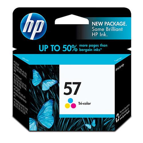 【HP 墨水匣】C6657AA NO.57 原廠彩色墨水匣